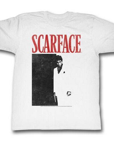 Scarface Black & Red Poster