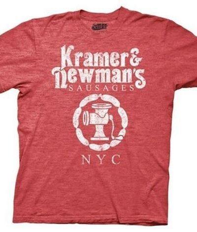 Seinfeld Kramer & Newmans Sausages T-Shirt