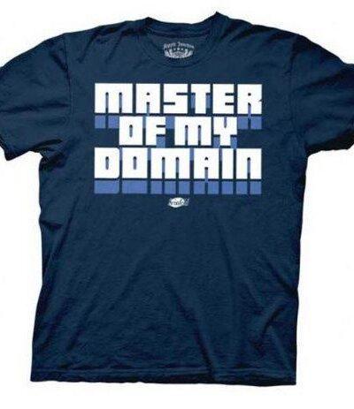 Seinfeld Master of My Domain T-shirt