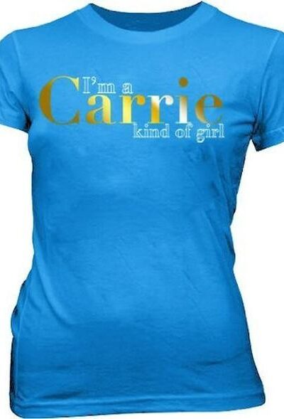 Sex and the City I'm a Carrie T-shirt