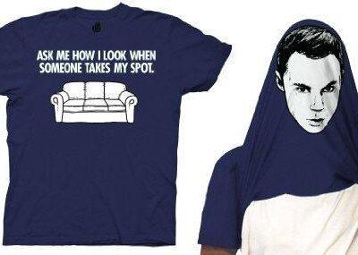 Sheldon Cooper When You Take My Spot Flip T-shirt