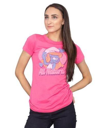 Smurfs Smurfette All Natural T-shirt
