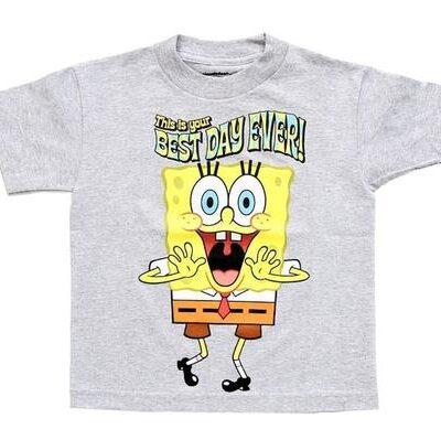 Spongebob Square Best Day Ever T-Shirt