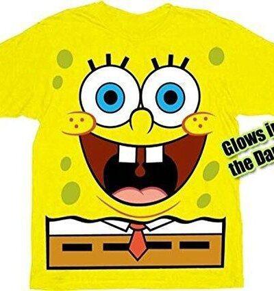 Spongebob Squarepants Jumbo Glow-in-the-Dark Toddlers T-shirt