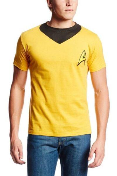 Star Trek Captain Kirk Uniform Costume T-Shirt