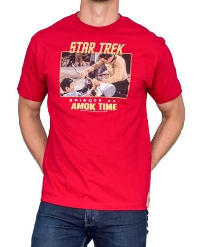 Star Trek Episode 34 Amok Time Cardinal T-Shirt