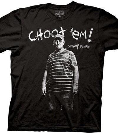Swamp People Troy Landry Choot 'Em! T-shirt
