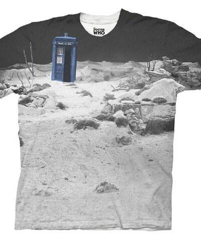 TARDIS Prehistoric Earth Sublimation T-Shirt