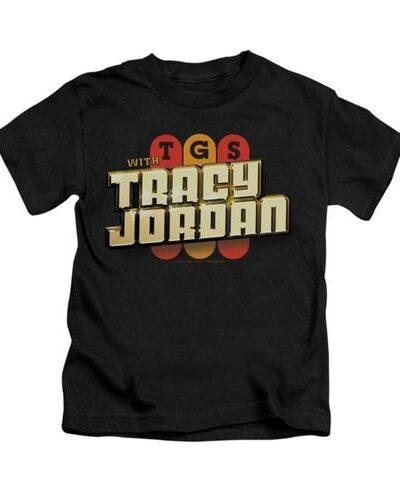 TGS with Tracy Jordan Black Adult T-shirt