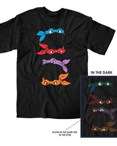 TMNT Mask Lineup T-Shirt
