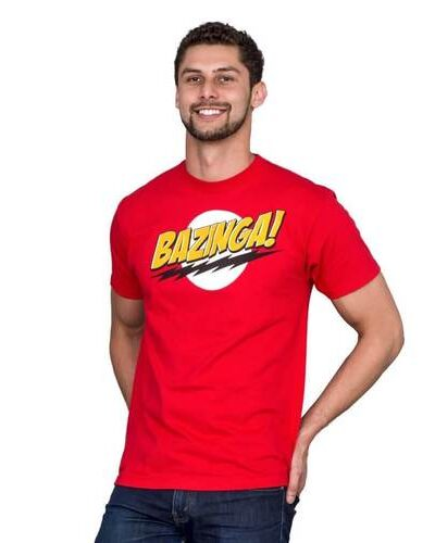 The Big Bang Theory Bazinga! T-shirt
