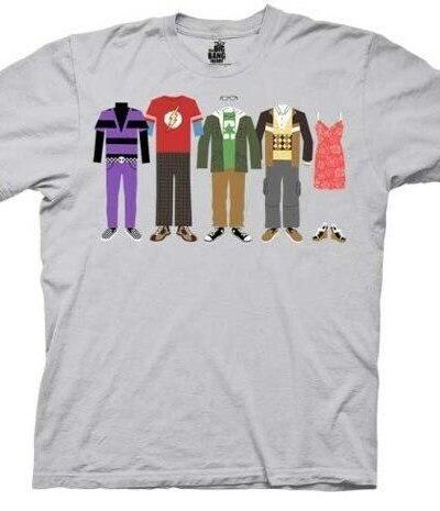 The Big Bang Theory Group Clothing T-shirt