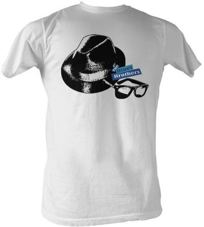 The Blues Brothers Hat & Glasses T-shirt