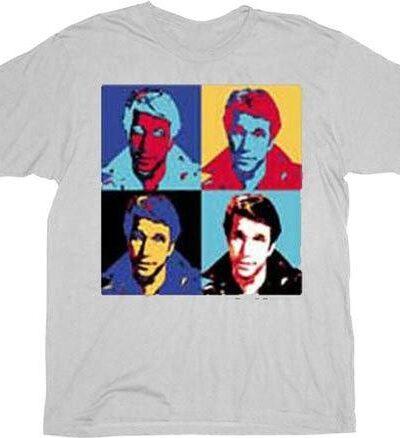 The Fonz Fonzie Pop Art T-shirt