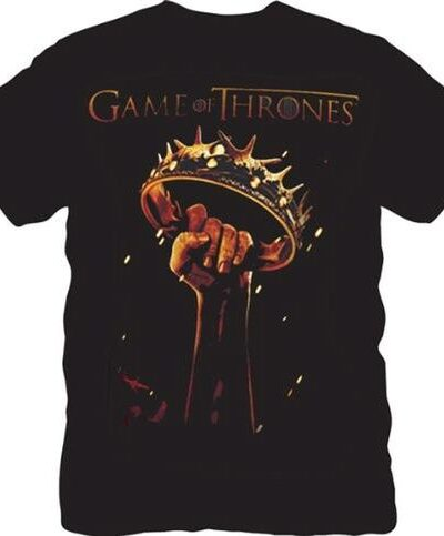 The Game of Thrones Fist Crown T-shirt