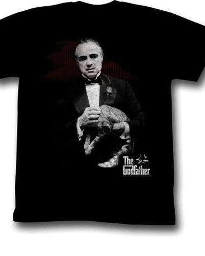 The Godfather Contemplation Adult Black
