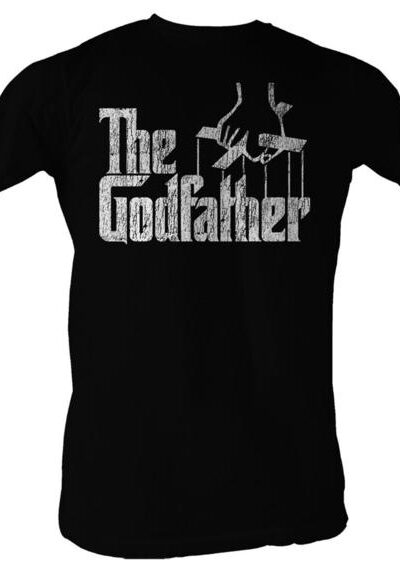 The Godfather Distressed Puppeteer Logo Black