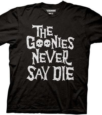 The Goonies Never Say Die Two Skulls T-Shirt