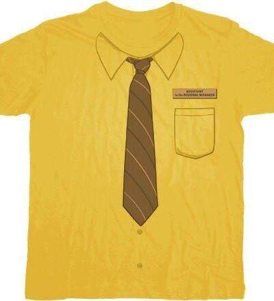 The Office Dwight Neck-Tie Work Shirt T-shirt
