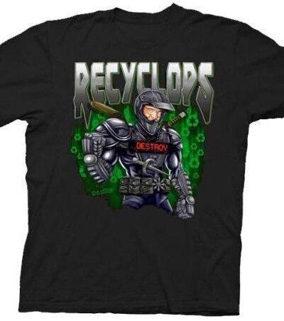 The Office Recyclops Dwight T-shirt Tee