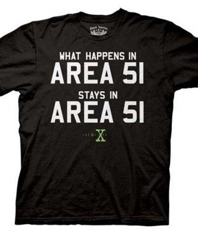 The X-Files Area 51 T-shirt
