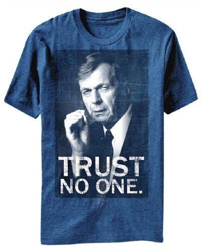 The X-Files Smoking Man Trust No One T-Shirt