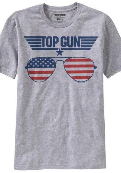 Top Gun American Flag Sunglasses