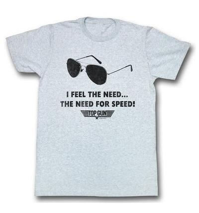 Top Gun I Feel The Need For Speed T-shirt