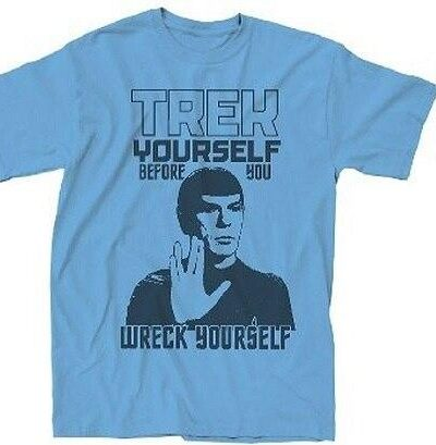 Trek Yourself Before You Wreck Yourself T-Shirt