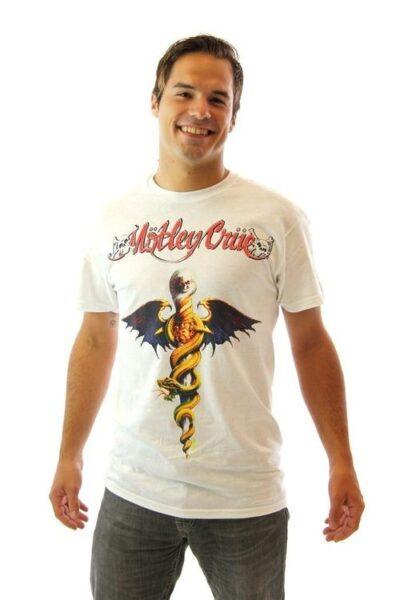 Wayne's World Motley Crue Band Logo t-shirt tee