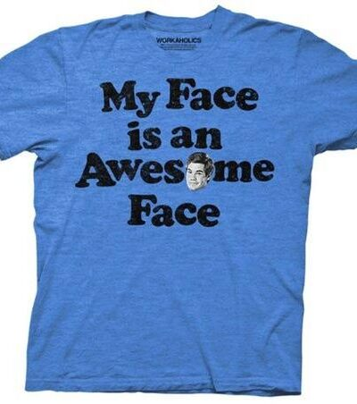 Workaholics Adam My Face is an Awesome Face T-Shirt