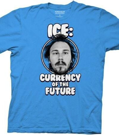 Workaholics Ice: Currency of the Future T-shirt