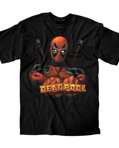 Deadpool Knuckles T-shirt